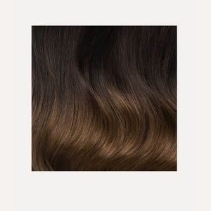 Luxy Clip-In Hair Extensions (Ombre Chestnut)